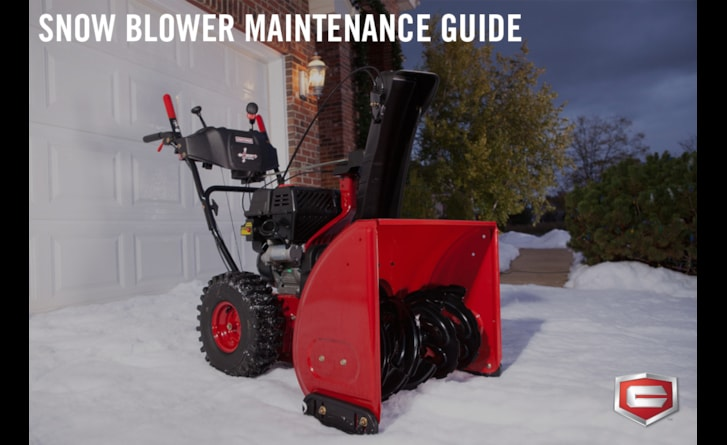 Take care of your first line of Winter defense.
