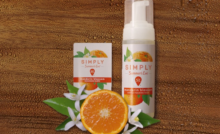 New Simply Summer's Eve™. Simply made. No harsh chemicals.