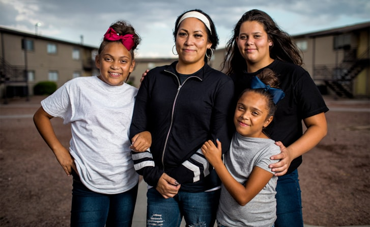 See how Americans living in poverty fight to make ends meet.